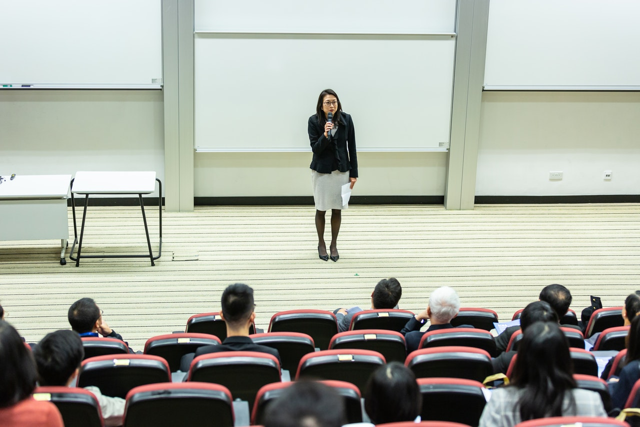Practice makes perfect when it comes to public speaking