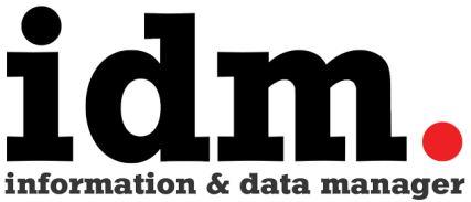 Information & Data Manager logo